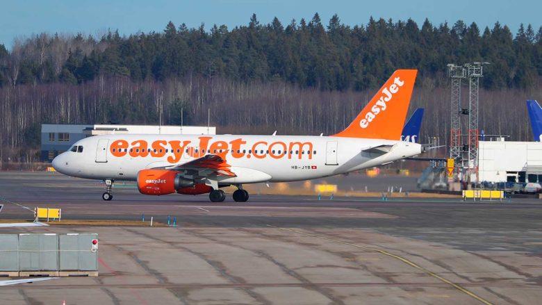 regras de mala na Europa com Easyjet