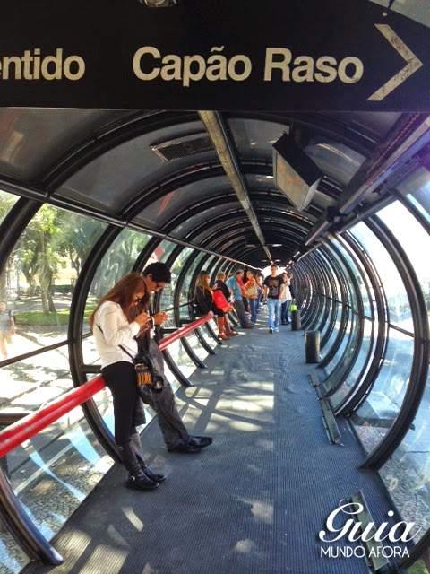 estações tubo em curitiba