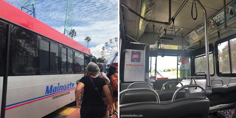 transporte gratuito em hotel em Orlando