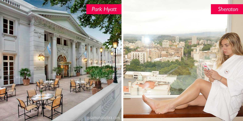 hoteis onde ficar em Mendoza