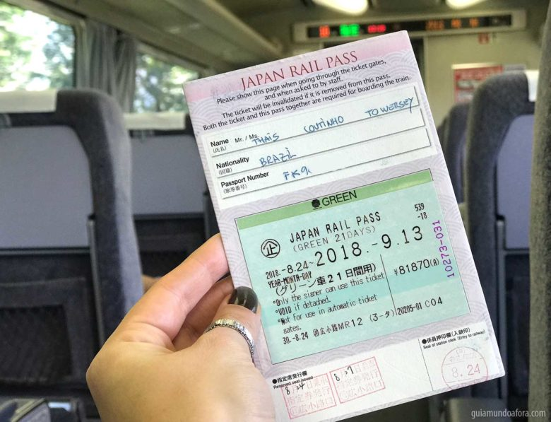JR Pass no Japão