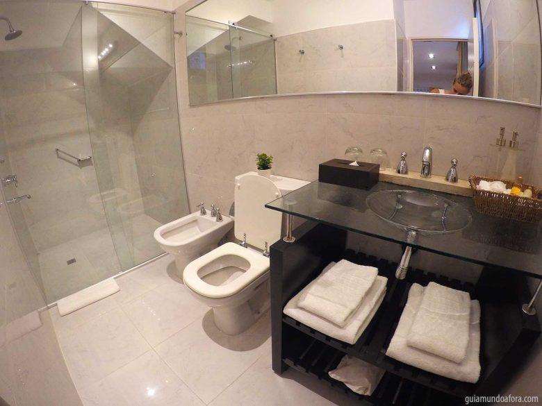 banheiro hotel em Cordoba