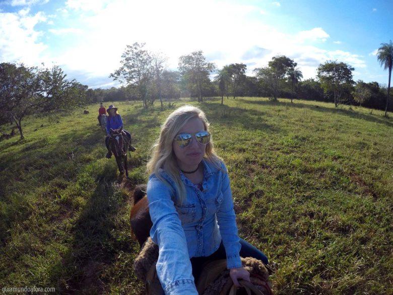Cavalgada na Estância Mimosa