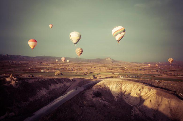 balão na Capadócia