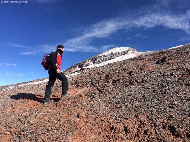 Vulcão no Atacama Lascar