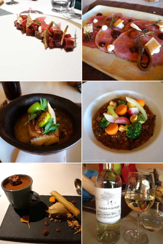 Gastronomia relais chateux Awasi