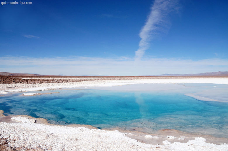 Lagunas Escondidas no Atacama