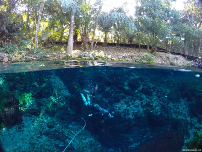 Flutuação em Bonito - Nascente Azul