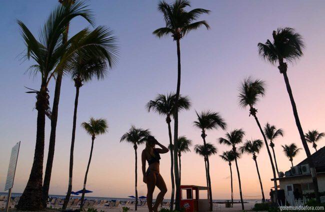 Praias em Barbados, hotel hilton
