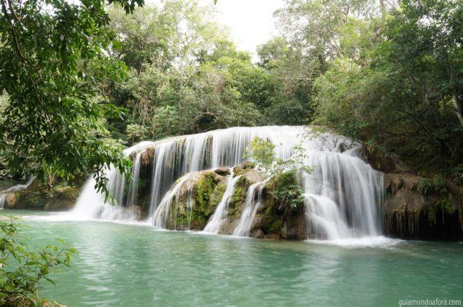cachoeiras em Bonito