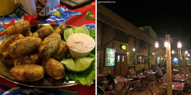 Taboa Bar - onde comer em Bonito