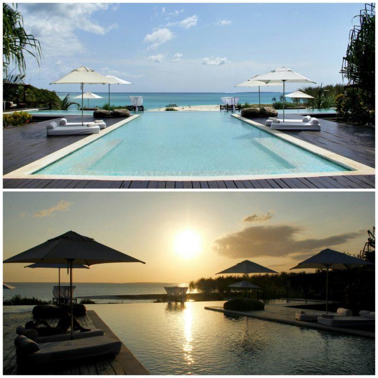 piscina de hotel em Nungwi em Zanzibar