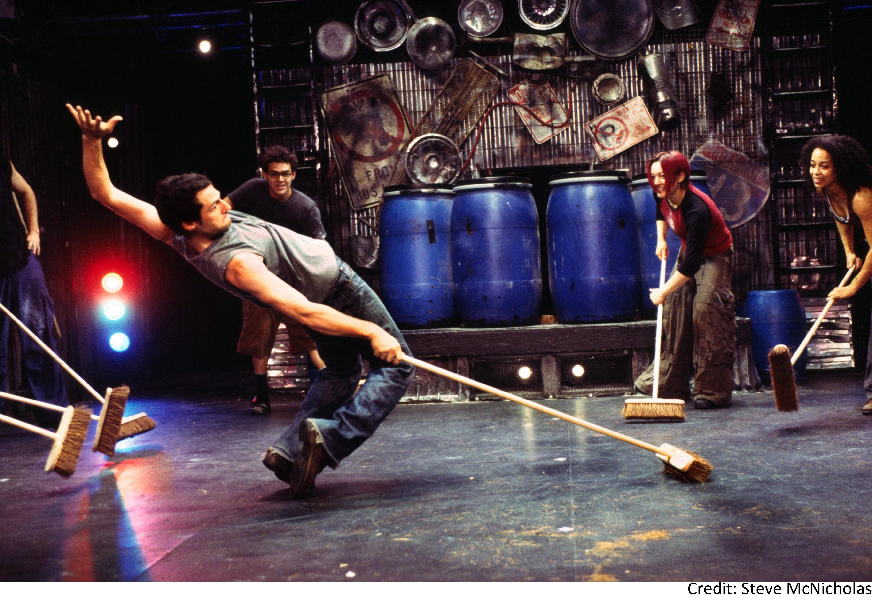Show Broadway Stomp