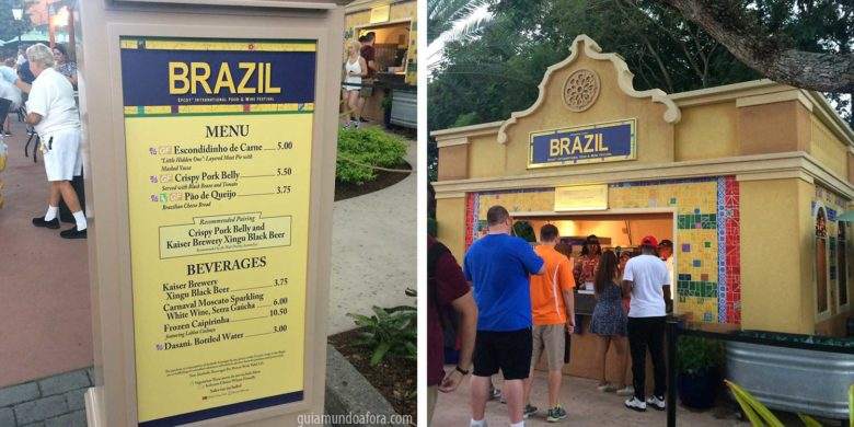 Brazil no Food and Wine