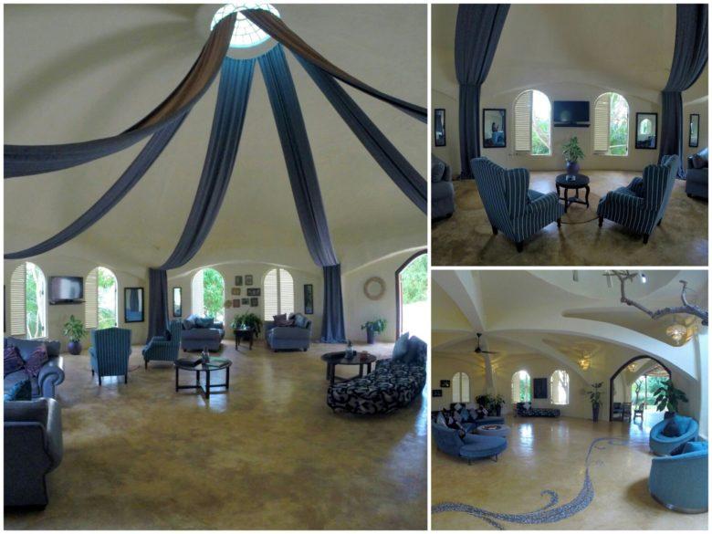 recepção de hotel em Zanzibar