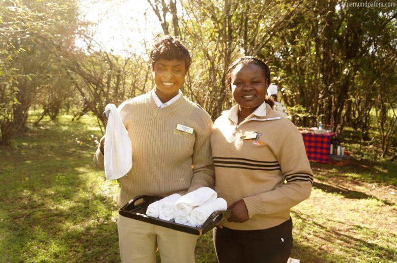 Bush Breakfast em Masai Mara