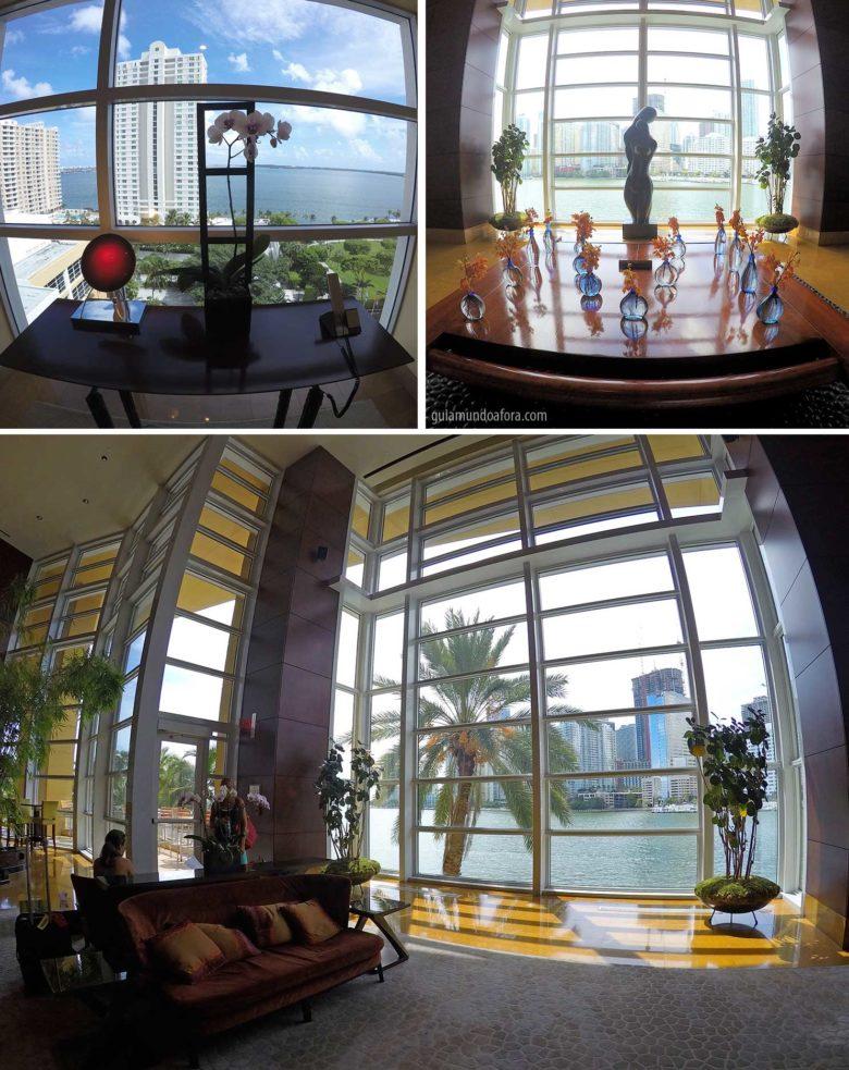 Lobby Mandarin Oriental hotel em Miami