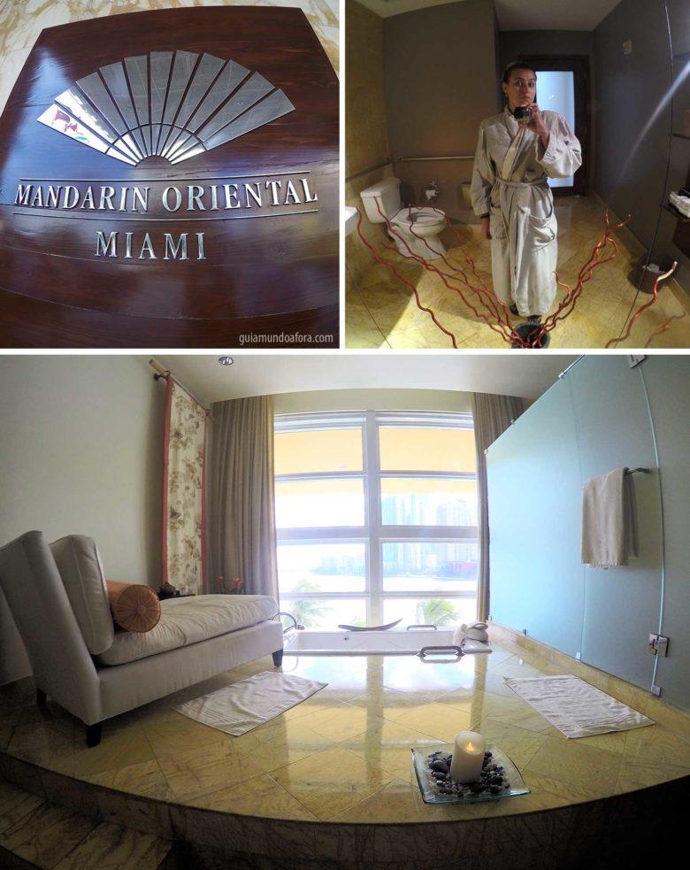 spa de hotel em Miami Mandarin Oriental