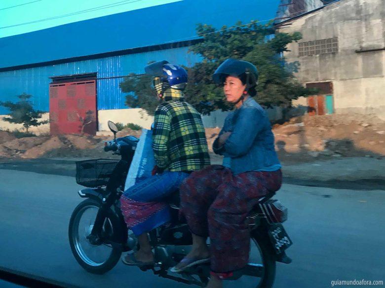 de moto em Viagem para Myanmar