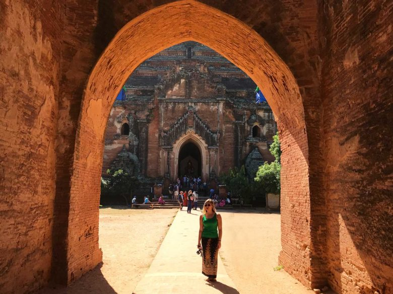 Viagem para Myanmar de longyi