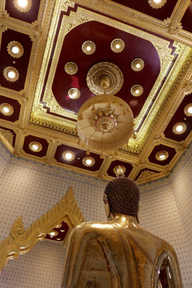 Templo do Buda de Ouro em Bangkok