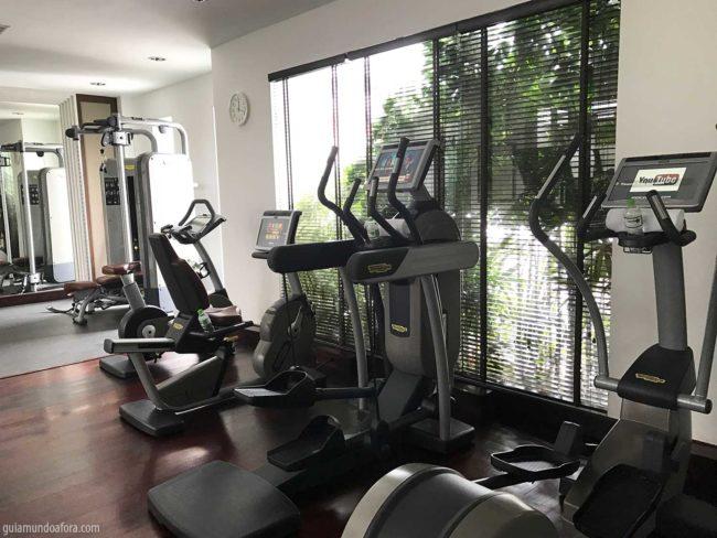 Academia do hotel Park Hyatt Siem Reap