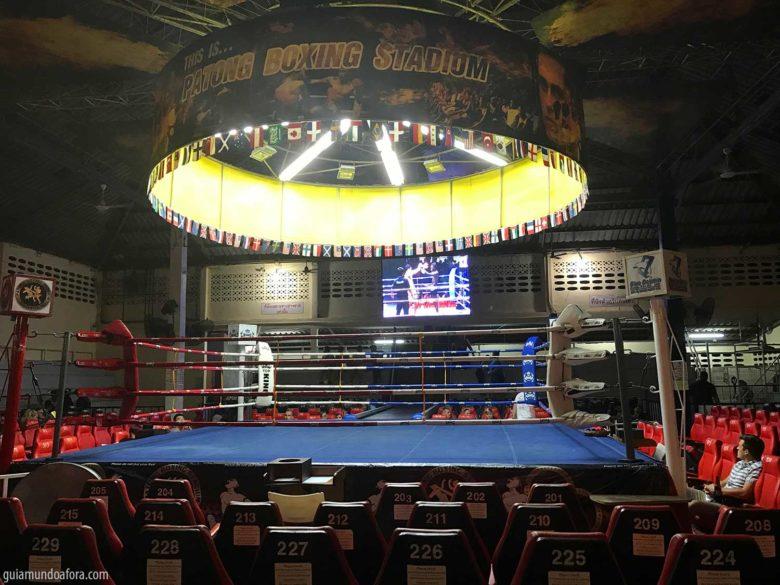 Muay Thai em Phuket
