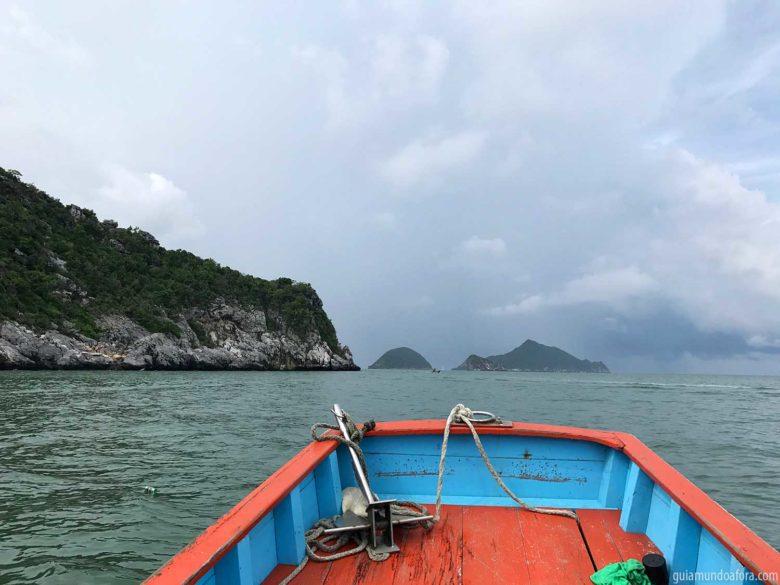 barco Khao Sam Roi Yot