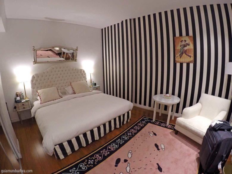 Quarto de hotel em Buenos Aires Tango de Mayo