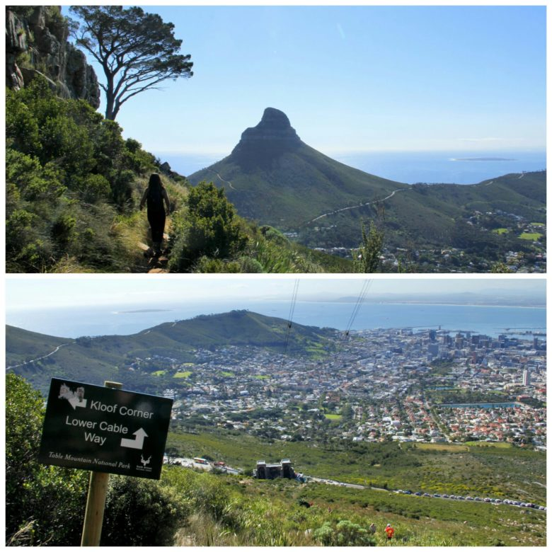subida table mountain