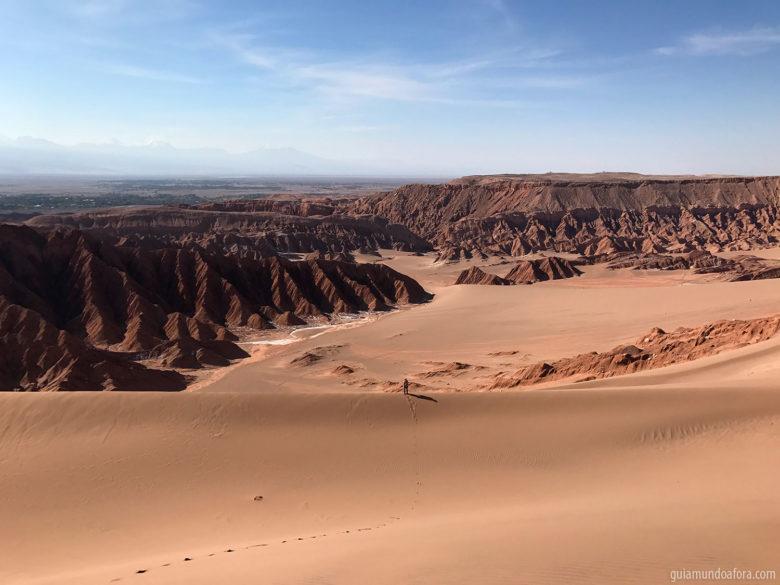 Trekking no Valle de la Muerte