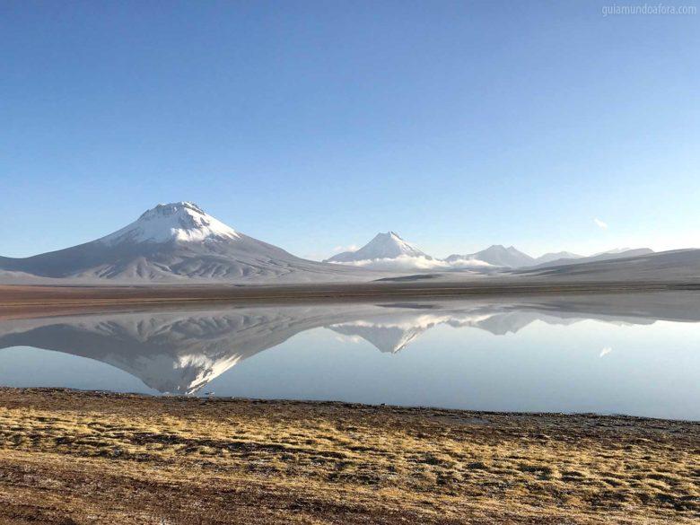 Lagunas Lejía paisagens no Atacama