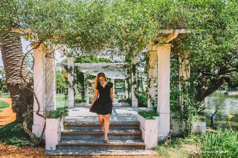 Rosedal é um dos jardins de Buenos Aires