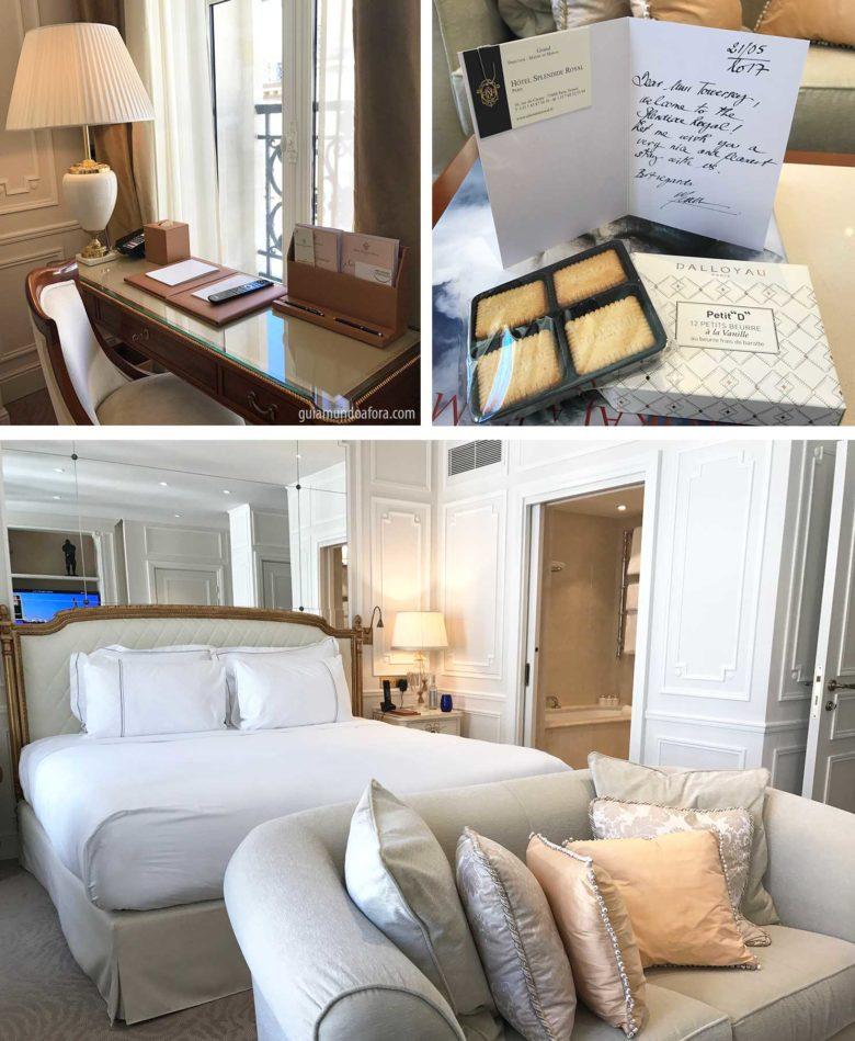 quarto de hotel em Paris