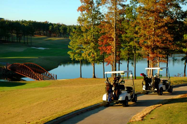 Alabama-Birmingham-Robert-Trent-Jones-Ross-Bridge-Carts-On-Drive-Path-780x519 Sul dos Estados Unidos: região que todo apaixonado por golfe deve conhecer