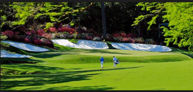 campos de golfe no sul dos Estados Unidos