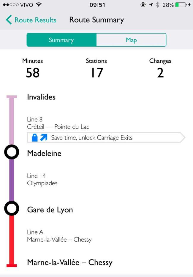 Trem para Disneyland Paris