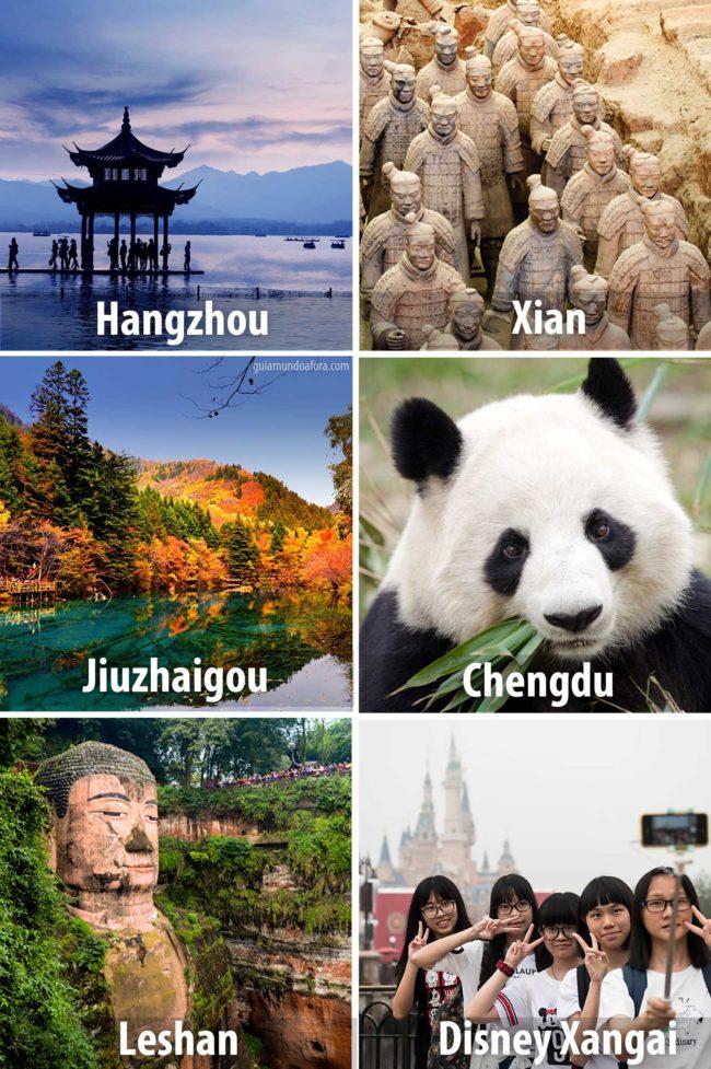 roteiro da China destinos