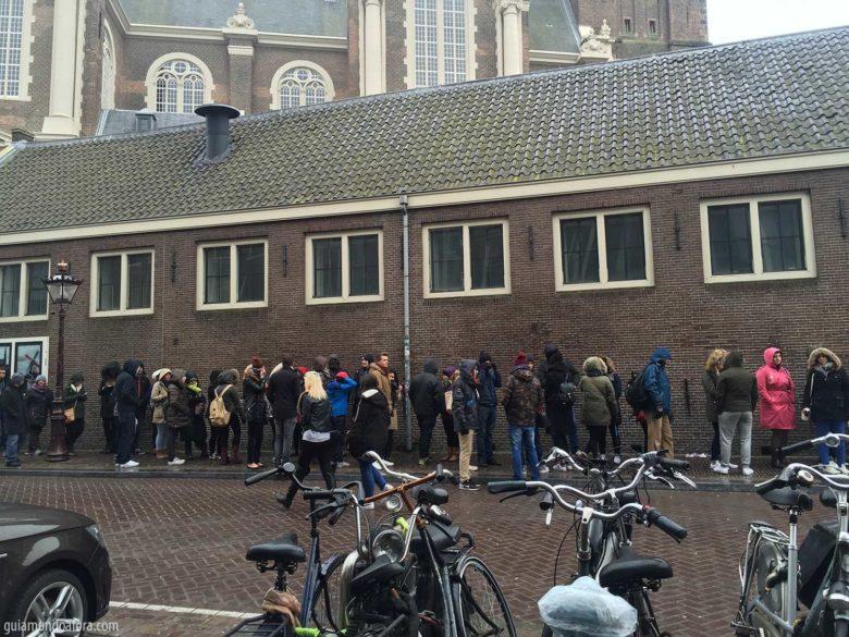 Fila museu Anne Frank