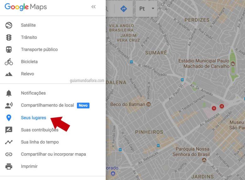Mapa personalizado