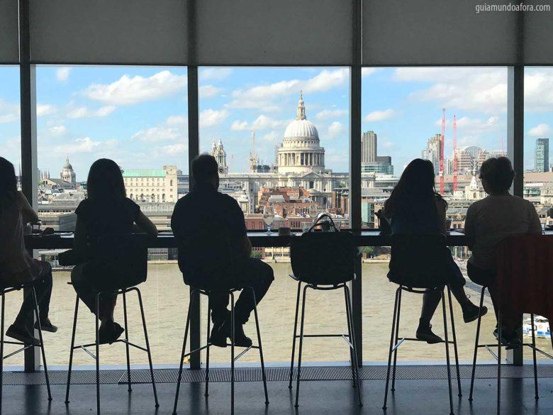 Londres do Alto no Tate Modern
