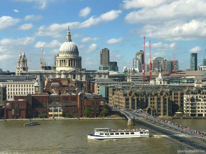 Vista do topo do Tate Modern