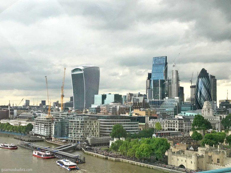 Vista da Tower Bridge