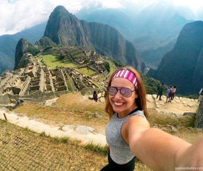 Paisagens no Peru em Macchu Picchu