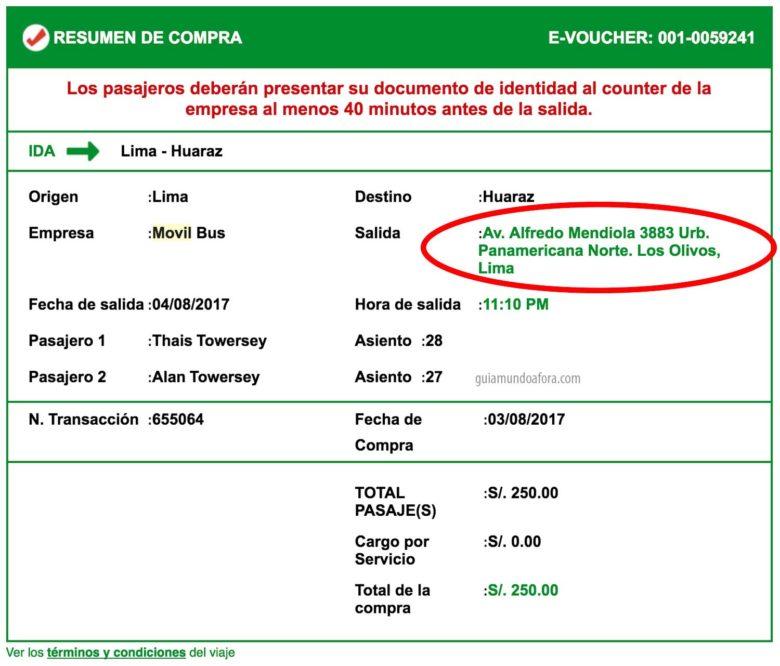 ticket-movil-tours-min-780x666 Como chegar em Huaraz saindo de Lima