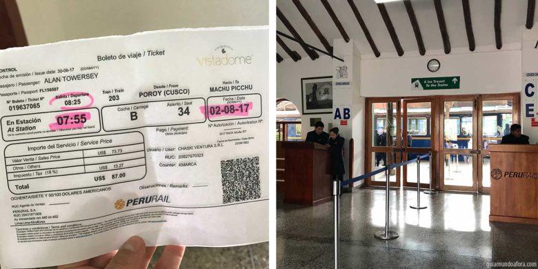 ticket-trem-min-780x390 Trem para Machu Picchu: como é o Vistadome da Peru Rail