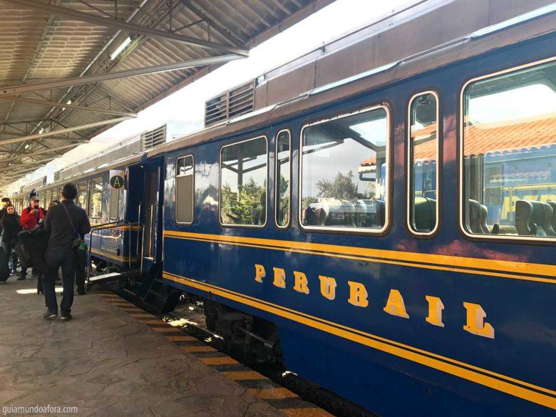 trem-aguascalientes-min-780x585 Trem para Machu Picchu: como é o Vistadome da Peru Rail