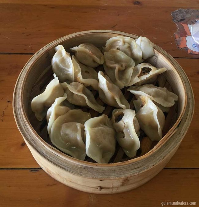 dumplings na China