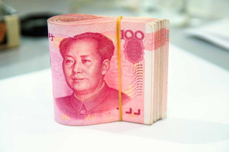 Câmbio na China