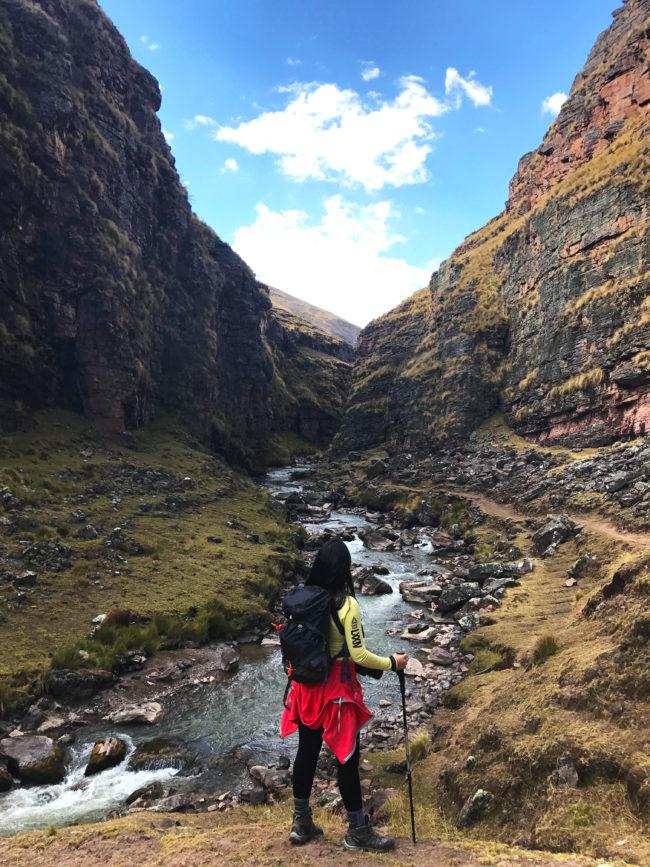 cânion-650x867 Trilha Ausangate e Vinicunca (dia 1): aclimatação no Peru